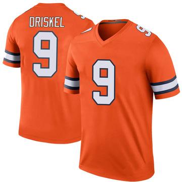Youth Nike Denver Broncos Jeff Driskel Orange Color Rush Jersey - Legend