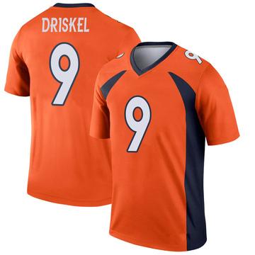 Youth Nike Denver Broncos Jeff Driskel Orange Jersey - Legend