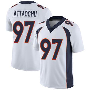Youth Nike Denver Broncos Jeremiah Attaochu White Vapor Untouchable Jersey - Limited