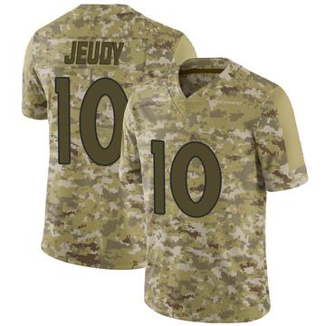 Youth Nike Denver Broncos Jerry Jeudy Camo 2018 Salute to Service Jersey - Limited