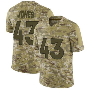 Youth Nike Denver Broncos Joe Jones Camo 2018 Salute to Service Jersey - Limited