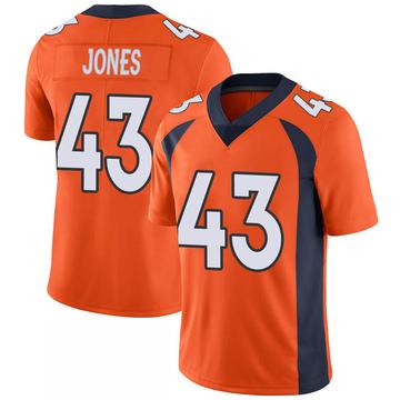 Youth Nike Denver Broncos Joe Jones Orange 100th Vapor Jersey - Limited
