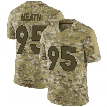 Youth Nike Denver Broncos Joel Heath Camo 2018 Salute to Service Jersey - Limited