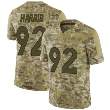 Youth Nike Denver Broncos Jonathan Harris Camo 2018 Salute to Service Jersey - Limited