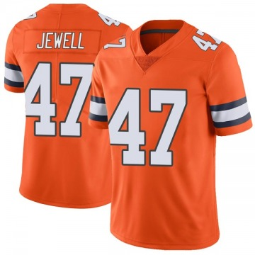 Youth Nike Denver Broncos Josey Jewell Orange Color Rush Vapor Untouchable Jersey - Limited