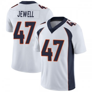 Youth Nike Denver Broncos Josey Jewell White Vapor Untouchable Jersey - Limited
