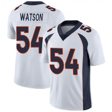 Youth Nike Denver Broncos Josh Watson White Vapor Untouchable Jersey - Limited