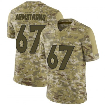 Youth Nike Denver Broncos Ka'John Armstrong Camo 2018 Salute to Service Jersey - Limited