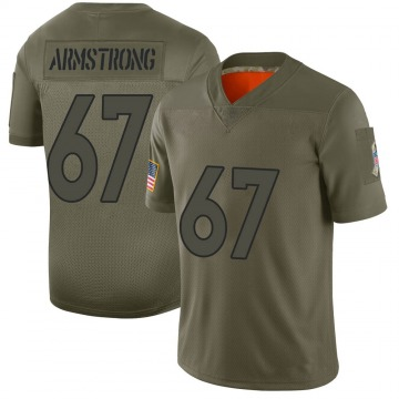 Youth Nike Denver Broncos Ka'John Armstrong Camo 2019 Salute to Service Jersey - Limited