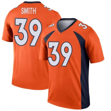 Youth Nike Denver Broncos Kahani Smith Orange Jersey - Legend