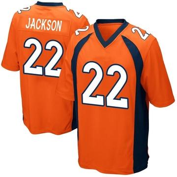 Youth Nike Denver Broncos Kareem Jackson Orange Team Color Jersey - Game