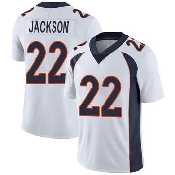 Youth Nike Denver Broncos Kareem Jackson White Vapor Untouchable Jersey - Limited