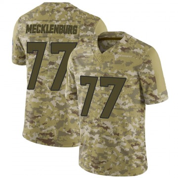 Youth Nike Denver Broncos Karl Mecklenburg Camo 2018 Salute to Service Jersey - Limited