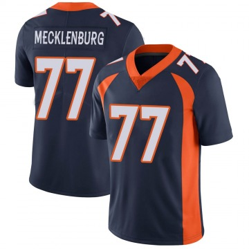Youth Nike Denver Broncos Karl Mecklenburg Navy Vapor Untouchable Jersey - Limited