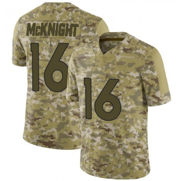 Youth Nike Denver Broncos Kelvin McKnight Camo 2018 Salute to Service Jersey - Limited
