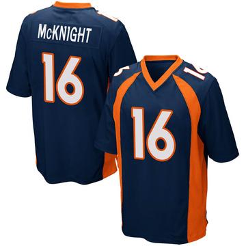 Youth Nike Denver Broncos Kelvin McKnight Navy Blue Alternate Jersey - Game