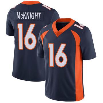 Youth Nike Denver Broncos Kelvin McKnight Navy Vapor Untouchable Jersey - Limited