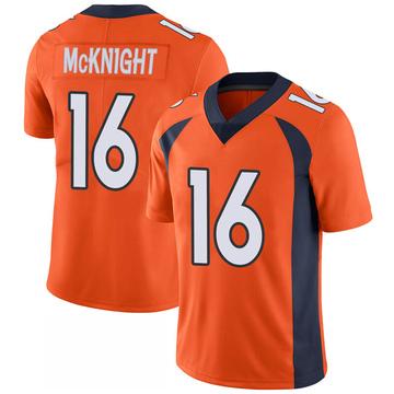 Youth Nike Denver Broncos Kelvin McKnight Orange 100th Vapor Jersey - Limited