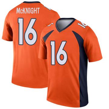 Youth Nike Denver Broncos Kelvin McKnight Orange Jersey - Legend
