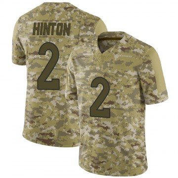 Youth Nike Denver Broncos Kendall Hinton Camo 2018 Salute to Service Jersey - Limited
