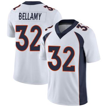 Youth Nike Denver Broncos LeVante Bellamy White Vapor Untouchable Jersey - Limited