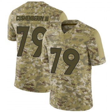 Youth Nike Denver Broncos Lloyd Cushenberry III Camo 2018 Salute to Service Jersey - Limited