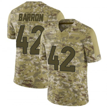 Youth Nike Denver Broncos Mark Barron Camo 2018 Salute to Service Jersey - Limited