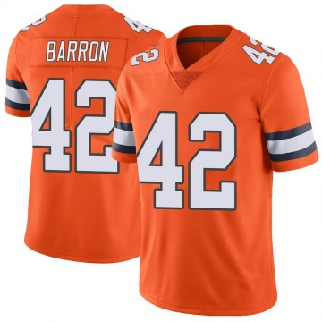 Youth Nike Denver Broncos Mark Barron Orange Color Rush Vapor Untouchable Jersey - Limited