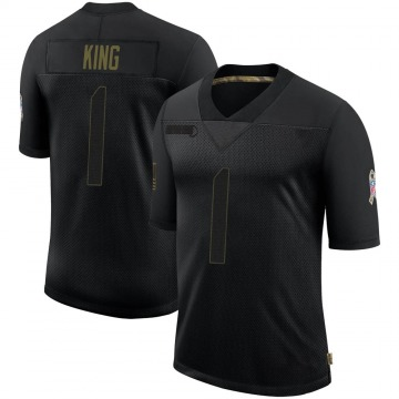 Youth Nike Denver Broncos Marquette King Black 2020 Salute To Service Jersey - Limited