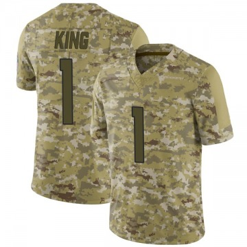 Youth Nike Denver Broncos Marquette King Camo 2018 Salute to Service Jersey - Limited