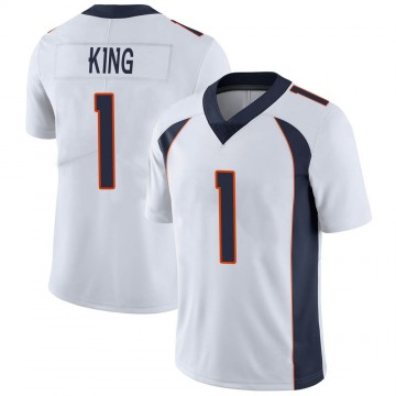 Youth Nike Denver Broncos Marquette King White Vapor Untouchable Jersey - Limited