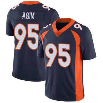 Youth Nike Denver Broncos McTelvin Agim Navy Vapor Untouchable Jersey - Limited