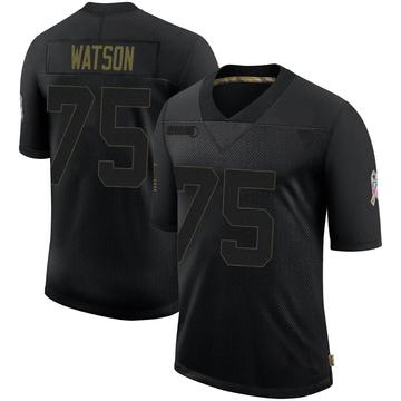 Youth Nike Denver Broncos Menelik Watson Black 2020 Salute To Service Jersey - Limited