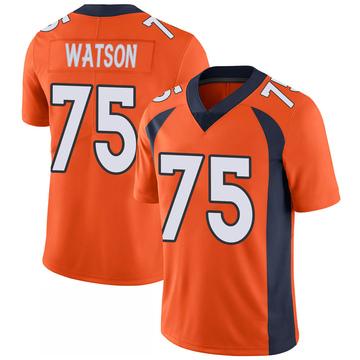 Youth Nike Denver Broncos Menelik Watson Orange 100th Vapor Jersey - Limited
