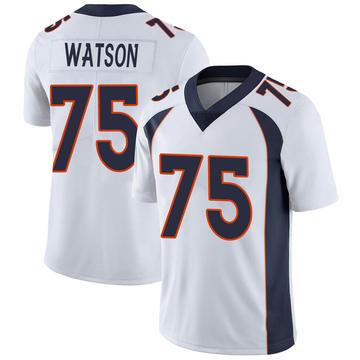 Youth Nike Denver Broncos Menelik Watson White Vapor Untouchable Jersey - Limited