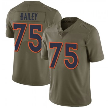 Youth Nike Denver Broncos Quinn Bailey Green 2017 Salute to Service Jersey - Limited