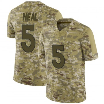 Youth Nike Denver Broncos Riley Neal Camo 2018 Salute to Service Jersey - Limited