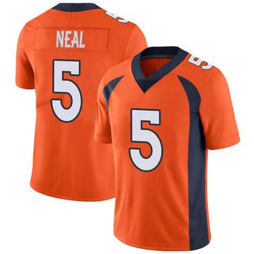 Youth Nike Denver Broncos Riley Neal Orange Team Color Vapor Untouchable Jersey - Limited