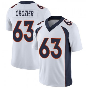 Youth Nike Denver Broncos Ryan Crozier White Vapor Untouchable Jersey - Limited