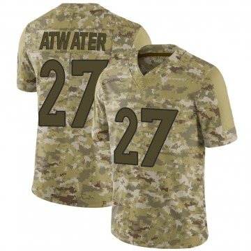 Youth Nike Denver Broncos Steve Atwater Camo 2018 Salute to Service Jersey - Limited