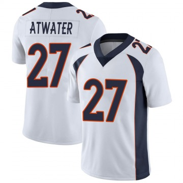 Youth Nike Denver Broncos Steve Atwater White Vapor Untouchable Jersey - Limited