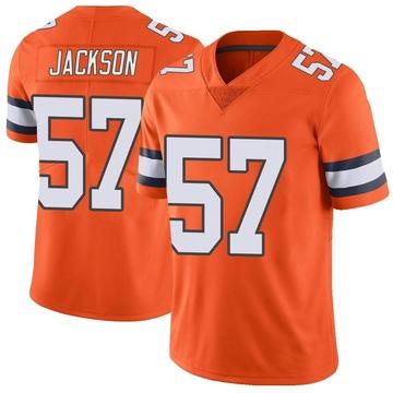 Youth Nike Denver Broncos Tom Jackson Orange Color Rush Vapor Untouchable Jersey - Limited