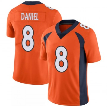 Youth Nike Denver Broncos Trevor Daniel Orange 100th Vapor Jersey - Limited