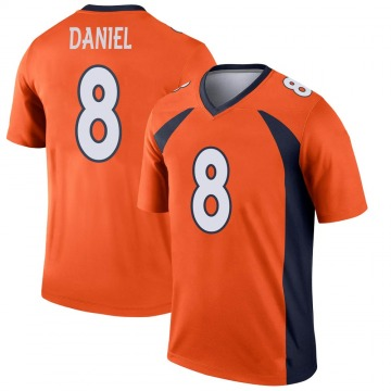 Youth Nike Denver Broncos Trevor Daniel Orange Jersey - Legend