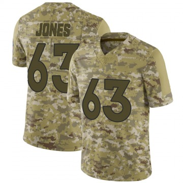 Youth Nike Denver Broncos Tyler Jones Camo 2018 Salute to Service Jersey - Limited
