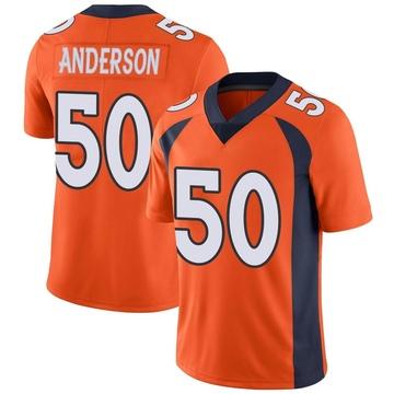 Youth Nike Denver Broncos Zaire Anderson Orange Team Color Vapor Untouchable Jersey - Limited