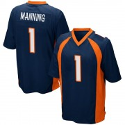 Youth Nike Denver Broncos Zimari Manning Navy Blue Alternate Jersey - Game