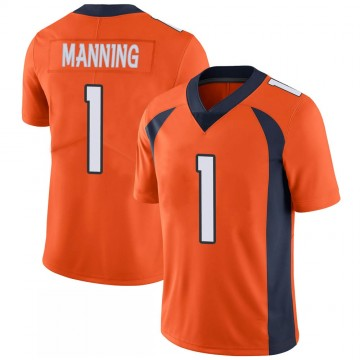Youth Nike Denver Broncos Zimari Manning Orange 100th Vapor Jersey - Limited