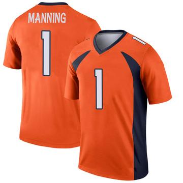 Youth Nike Denver Broncos Zimari Manning Orange Jersey - Legend
